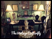 The Vintage Butterfly-All hand made Jewelry and Art in a cozy Boutique!