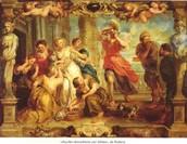 Aquiles descubierto por las hijas de Licomedes