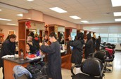 Our own new salon is open every friday from periods 1-4!