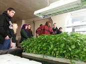 Green Living Community travels to The Plant