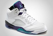 Jordan 5's Ice Grapes