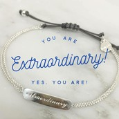 YOU ARE EXTRAORDINARY!!! YOU EARNED YOUR BRACELET FOR SELLING $500 THIS WEEK!