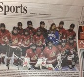 First Year of Girls Hockey