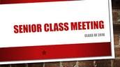 Senior Class Assembly