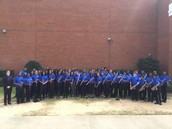 BCMS Bands Earn Top Ratings at Large Group Performance Evaluation