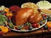 Thanksgiving Feast!  (NOV 20th, 11am-1pm) NEED TURKEYS PLEASE!