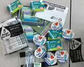 Water audit kits provided by the Portland Water Bureau