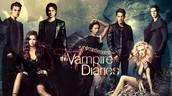 1. The Vampire diaries
