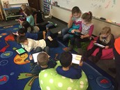We loved coding on the iPads!