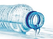 drinking water.