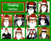 Round 6: Singing Santa's