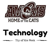 AMCMS Technology Tip of the Week