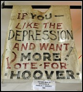 A vote for Hoover is a vote for depression!