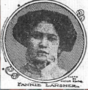 our hero Fannie Lansner