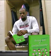 Lebron read books , how about you ?