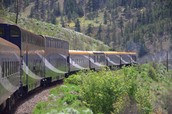 Tour The Canadian Rockies by Train & Motor Coach