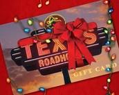 Tarjeta de Regalo de Texas Roadhouse de Recaudación de fondos