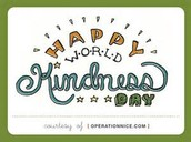 National World Kindness Day!