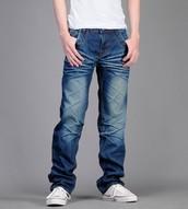 jeans apretado y jeans flojo