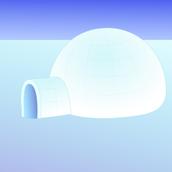 Dibujo de iglú