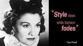 """""""Style stays while fashion fades."""""""