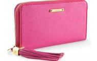 Mercer Zip Wallet Peony $79