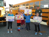 Bus Drivers Thanked for Their Work