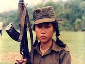 female child soldier