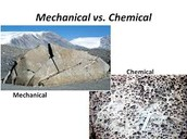 Chemical Weathering vs Mechanical Weathering