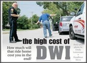 The Cost Of DWI