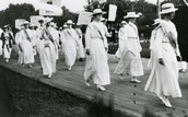 womens suffrage march