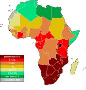 HIV/AIDS Map
