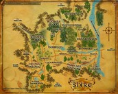 Shire Map