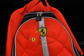 This is the awesome Ferrari Red Backpack.
