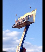 Have fun on the rides at the carnival!
