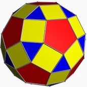 this is a rhombicosidodecahedron