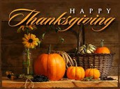 There is much to be Thankful for...