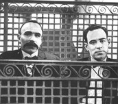 Sacco and Vanzetti killed in chair