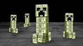 creeper made form money.