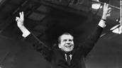 "Richard Nixon,the ""Silent Majority"", and Ronal Reagan"
