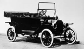 The model T automobile