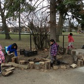 Building our own play area