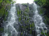 famous waterfall