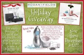Holiday Giveaway Drawing....runs through to Dec 31st!