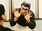 "Jaime Escalante (as played by Edward James Olmos) in ""Stand and Deliver"""