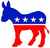The Democratic party symbol