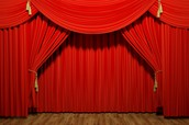 Stage Curtain Clean and Fire Retardant