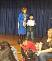 Fourth grade winner