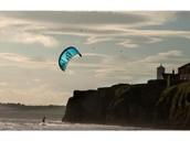 kite sufing