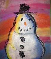 Our students create beautiful artwork at RCCES!